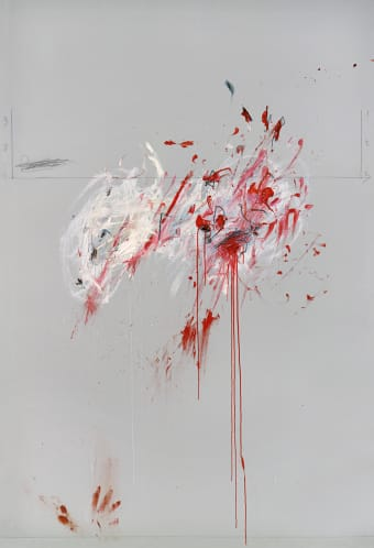 Cy Twombly. Nine Discourses on Commodus, Part III, 1963