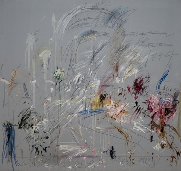 Cy Twombly. School of Athens, 1964