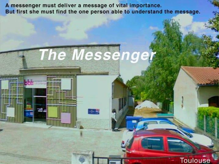 Дора Гарсиа. Скриншот из работы The Messenger (Toulouse) 2010 года, доступной на сайте художницы.