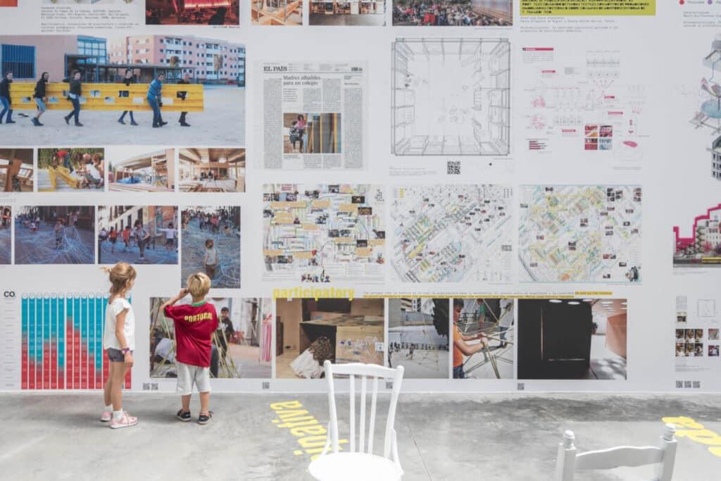 Вид павильона Испании в Джардини на Венецианской архитектурной биеннале 2018 года. (с) Laurian Ghinitoiu